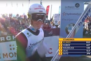 Климов – золотой призер IV этапа Гран-При в Куршевеле