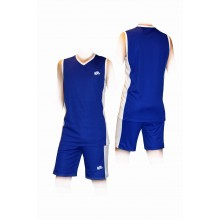 Синяя баскетбольная форма (костюм)