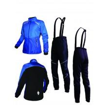 """Разминочный лыжный костюм """"Бейсик 20""""  (синий)"""