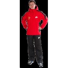 Утепленный спортивный костюм (красный)