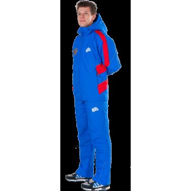 Утепленный спортивный костюм (синий)