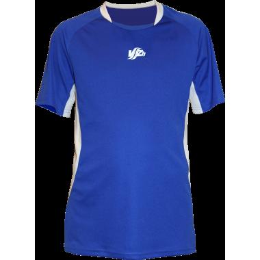 Синяя спортивная футболка (с рукавом)