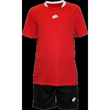 Красная футбольная форма (костюм)