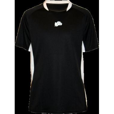 Спортивная футболка с рукавом (черная)