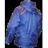Ветрозащитная куртка-дождевик (синяя)