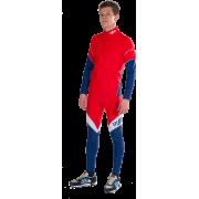 Гоночный лыжный костюм  (красный)