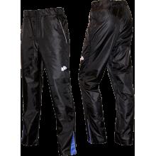 Ветрозащитные брюки (черные с синими вставками)