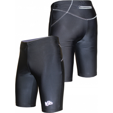 Спортивные шорты-унисекс (черные)