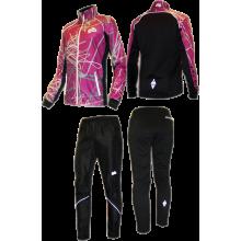 Спортивный костюм для фитнеса (фиолетовый)