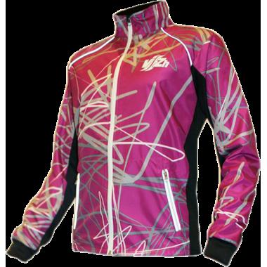 Фиолетовая спортивная куртка для фитнеса