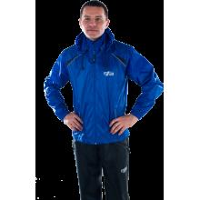 Ветрозащитный спортивный костюм (синий)
