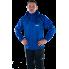 Синяя ветрозащитная куртка-дождевик