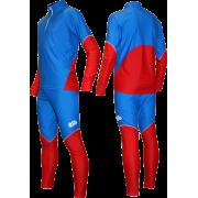 Гоночный лыжный костюм (синий)
