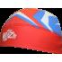Гоночный лыжный костюм с шапкой  (красный)