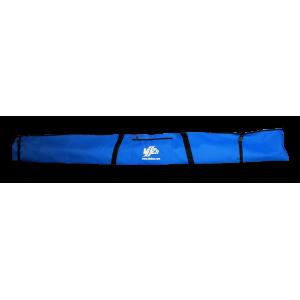 Чехол для беговых лыж на одну пару (синий)