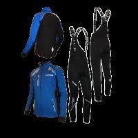 """Разминочный лыжный костюм """"Профи"""" (синий) 21"""