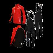 """Разминочный лыжный костюм """"Профи"""" (красный) 21"""