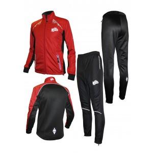 Спортивный костюм для фитнеса (красный)
