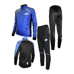Спортивный костюм для фитнеса (синий)